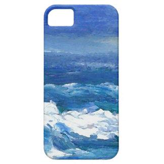 Romance arte del océano - mar del océano de iPhone 5 funda