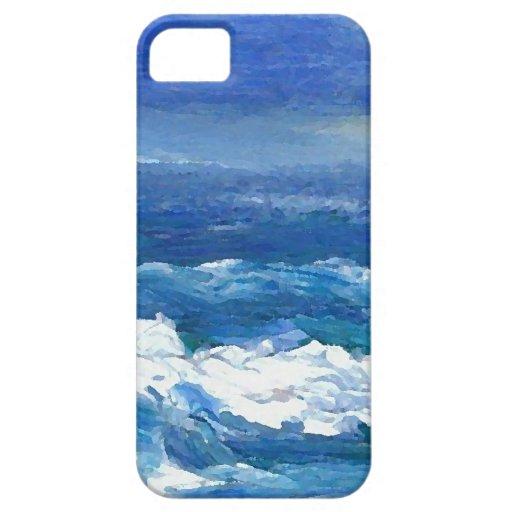 Romance arte del océano - mar del océano de iPhone 5 Case-Mate coberturas