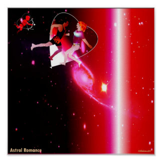 Romance astral poster