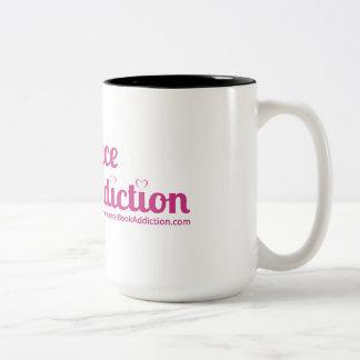 Romance Book Addiction Logo Mug