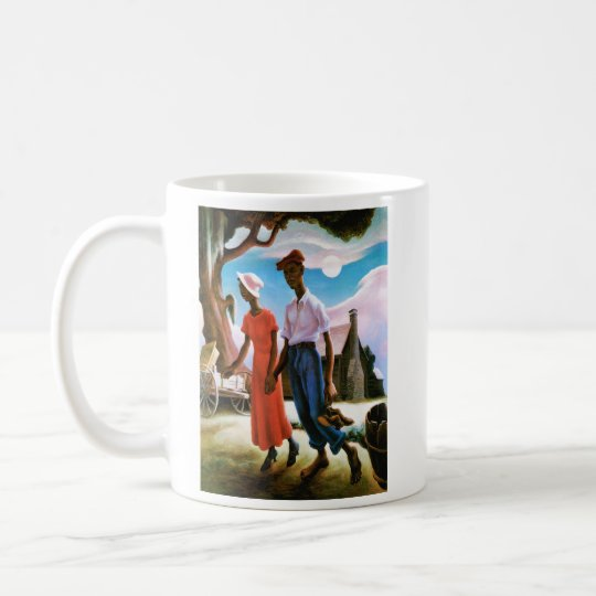 Romance by Thomas Hart Benton Coffee Mug