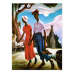 Romance by Thomas Hart Benton Post Card