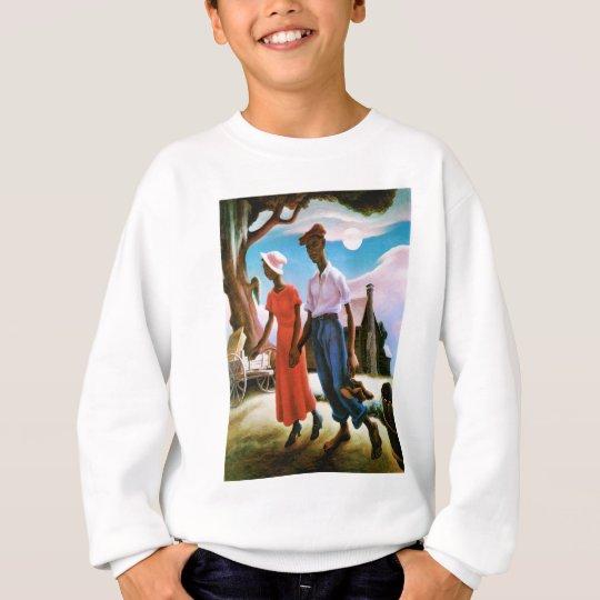 Romance by Thomas Hart Benton Sweatshirt