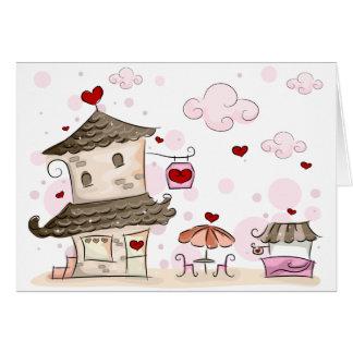 Romance Cafe Card