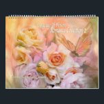 """Romance Collection 2 Art Calendar<br><div class=""""desc"""">Romance Collection 2 Floral Art Calendar, filled with luscious floral art, brings you romance every day of the year. Images from the Language Of Flowers collection of art by Carol Cavalaris. Collection includes paintings of roses, hydrangeas, peonies, calla lilies, poppies, delphiniums, snap dragons, sunflowers, and irises. Designs are available as...</div>"""