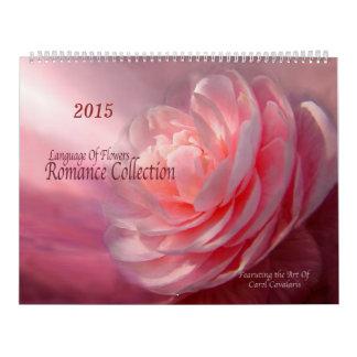 Romance Collection Floral Art Calendar 2015
