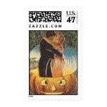 Romance de Halloween del vintage del KRW Estampilla