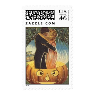 Romance de Halloween del vintage del KRW Sello