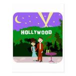 Romance de Hollywood Tarjetas Postales