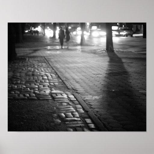 Romance de la noche - Central Park del este - New  Póster