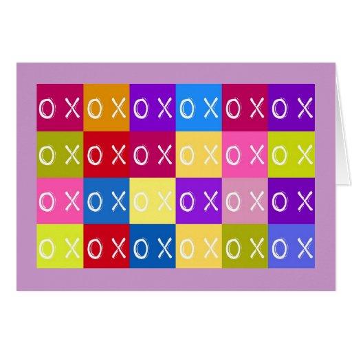 Romance de las tarjetas, amor, coqueto tarjeta pequeña