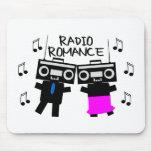 Romance de radio tapetes de raton