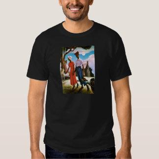 Romance de Thomas Hart Benton Camisas
