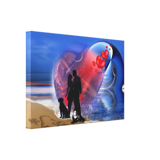 Romance Decor Canvas Print