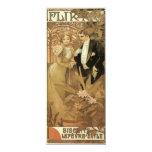 Romance del amor del vintage, arte Nouveau, Anuncio
