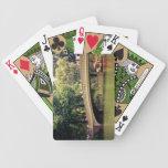 Romance del Central Park - puente del arco - New Y Baraja Cartas De Poker