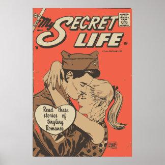 Romance del cómic mi poster secreto de la vida 22 póster