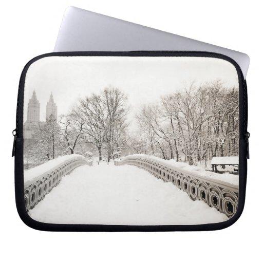 Romance del invierno del Central Park - puente del Manga Computadora