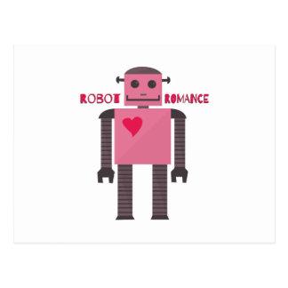 Romance del robot postales