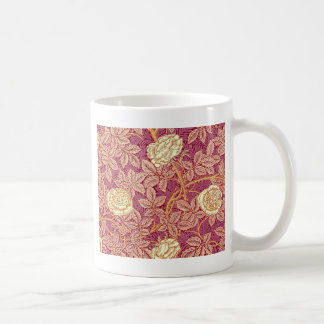 Romance del rosa rojo taza de café