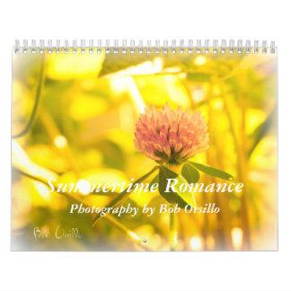 Romance del verano calendarios