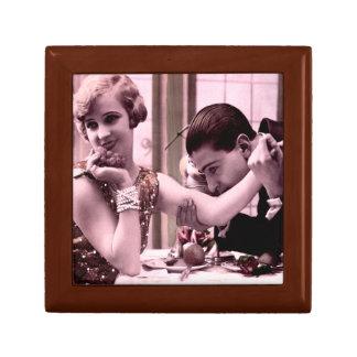 Romance del vintage de Oxygentees Cajas De Joyas