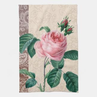 Romance del vintage subió toallas