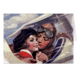 Romance en el cielo felicitacion