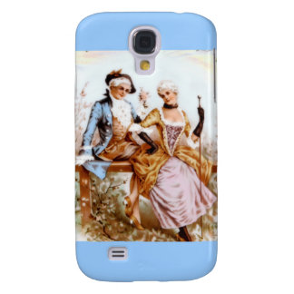 romance francés del siglo XVIII Funda Para Galaxy S4