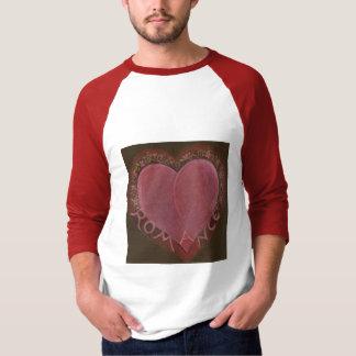ROMANCE heart shirt
