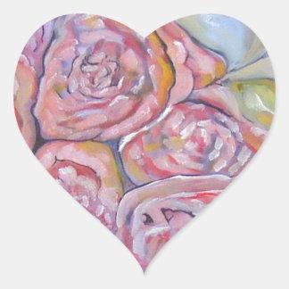 """""""Romance"""" Heart Sticker"""