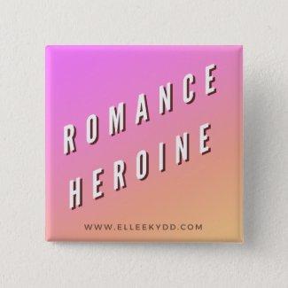 Romance Heroine Button