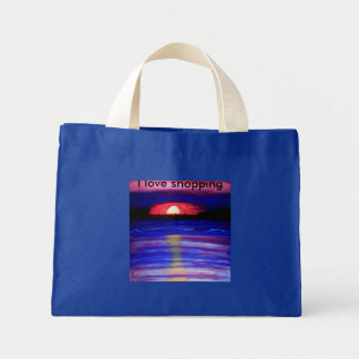 Romance in Autumn Tote Bags
