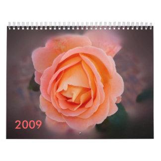 Romance In Bloom Calendar 2009