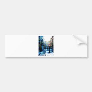 Romance in Chicago by Rossouw Bumper Sticker