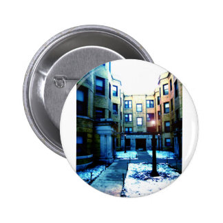 Romance in Chicago by Rossouw Pinback Buttons