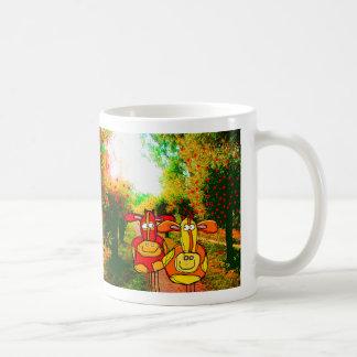 romance in lover's lane coffee mug