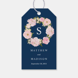 Romance in Navy | Wedding Gift Tags