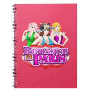 Romance In Paris Notebook