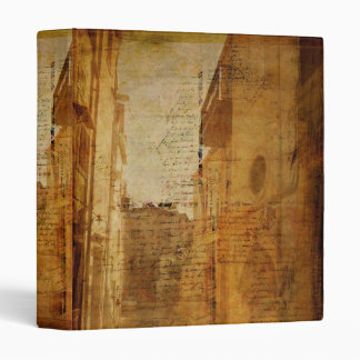 Romance in Stone 3 Ring Binder