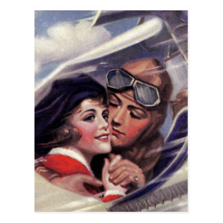 Romance in the Sky Postcard
