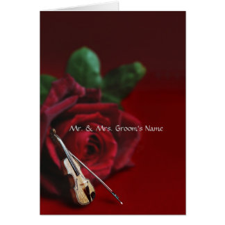Romance Informal Notecard