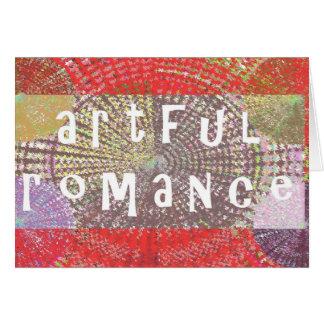 Romance ingenioso - merece una ocasión tarjetas