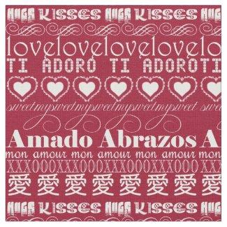 Romance Language White on Red RLTL