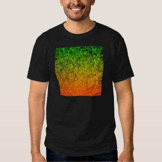 ROMANCE ME, Island Ombre Neon Orange Green Stars Shirt