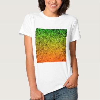 ROMANCE ME, Island Ombre Neon Orange Green Stars T Shirt