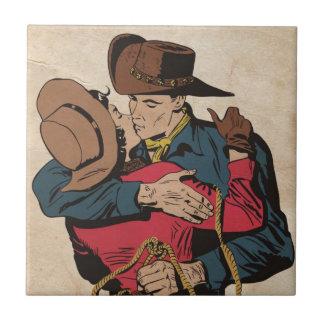 Romance occidental azulejo cuadrado pequeño