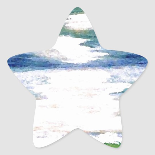 Romance of the Sea - Ocean Art Decor Star Sticker
