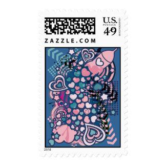 Romance_On_A_Rocket Stamp