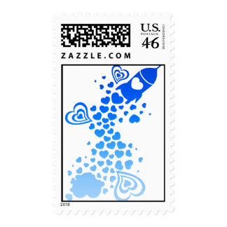 Romance_On_A_Rocket Stamps
